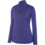 Augusta Women's Intensify 1/4 Zip Pullover Purple