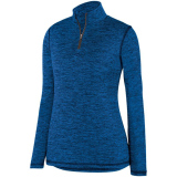 Augusta Women's Intensify 1/4 Zip Pullover Royal