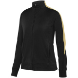 Augusta Women's Medalist 2.0 Jacket Black/Vegas Gold