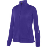 Augusta Women's Medalist 2.0 Jacket Purple/White