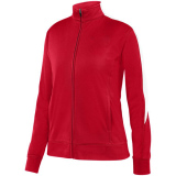 Augusta Women's Medalist 2.0 Jacket Red/White