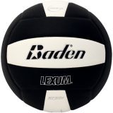 Baden Lexum VX450 Microfiber Volleyball Black/White