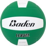 Baden Lexum VX450 Microfiber Volleyball Green/White