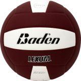 Baden Lexum VX450 Microfiber Volleyball Maroon/White