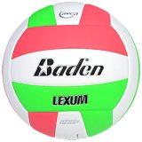 Baden Lexum VX450 Microfiber Volleyball Neon Green/White/Neon Pink