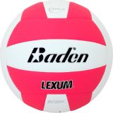 Baden Lexum VX450 Microfiber Volleyball Neon Pink/White