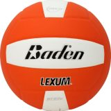 Baden Lexum VX450 Microfiber Volleyball Orange/White