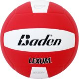 Baden Lexum VX450 Microfiber Volleyball Red/White