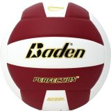 Baden Perfection VX5E Volleyball Maroon/White