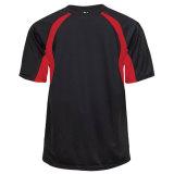 Badger Men's Hook Short Sleeve Jersey Black/Red