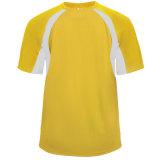 Badger Men's Hook Short Sleeve Jersey Gold/White