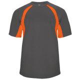Badger Men's Hook Short Sleeve Jersey Graphite/Orange