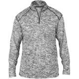 Badger Men's Blend 1/4 Zip Black