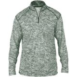 Badger Men's Blend 1/4 Zip Forest