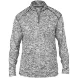 Badger Men's Blend 1/4 Zip Graphite