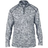 Badger Men's Blend 1/4 Zip Navy
