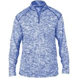 Badger Men's Blend 1/4 Zip Royal
