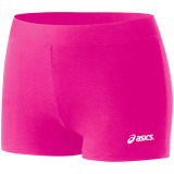 ASICS Women's BT752 Low Cut Spandex Shorts - 2.5 Inseam - Pink Glo