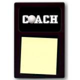 Coach Sticky Note Holder