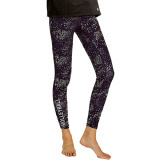Cosmic Volleyball Leggings Black