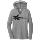 Graphic Lines Lightweight Volleyball Hoodie