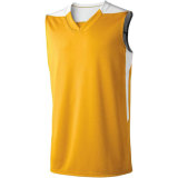 High Five Men's Court Jersey Gold/White