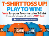 All Volleyball T-shirt Toss Up: Play to Win!!