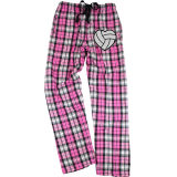 Metallic Volleyball Flannel Pants