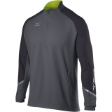 Mizuno Men's Elite 1/2 Zip Pullover Grey