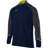 Mizuno Men's Elite 1/2 Zip Pullover Navy