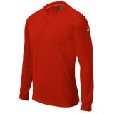 Mizuno Men's Comp Training Long Sleeve Jersey Red