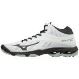 Mizuno Men's Wave Lightning Z4 - Mid White