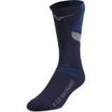Mizuno Runbird Crew Socks Navy