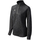 Mizuno Women's 440580 Flex 1/2 Zip Top