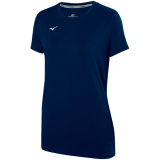 Mizuno Women's Attack Tee 2.0 Navy