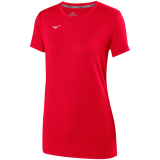 Mizuno Women's Attack Tee 2.0 Red