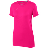 Mizuno Women's Attack Tee 2.0 Shocking Pink