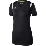 Mizuno Women's Balboa 5.0 Short Sleeve Jersey Black