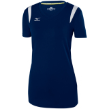 Mizuno Women's Balboa 5.0 Short Sleeve Jersey Navy