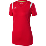 Mizuno Women's Balboa 5.0 Short Sleeve Jersey Red