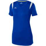 Mizuno Women's Balboa 5.0 Short Sleeve Jersey Royal