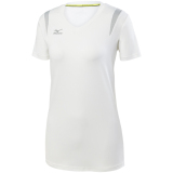 Mizuno Women's Balboa 5.0 Short Sleeve Jersey White
