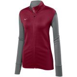 Mizuno Women's Horizon Full Zip Jacket Cardinal/Grey