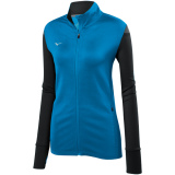 Mizuno Women's Horizon Full Zip Jacket Diva Blue/Black