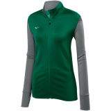 Mizuno Women's Horizon Full Zip Jacket Forest/Grey
