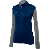 Mizuno Women's Horizon Full Zip Jacket Navy/Grey