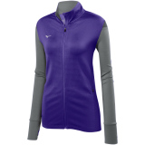 Mizuno Women's Horizon Full Zip Jacket Purple/Grey