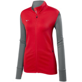 Mizuno Women's Horizon Full Zip Jacket Red/Grey