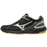 Mizuno Women's Wave Supersonic - Black/Silver