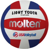 Molten MS240 Light Touch Volleyball Red/White/Blue